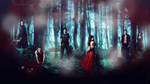 Wallpaper . The Vampire Diaries by justRomanova
