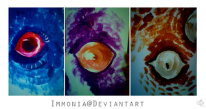 Monster Eyes by Immonia