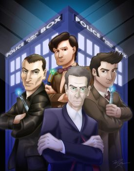 The Doctors Four by Hawkstone