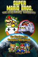 Super Mario Bros The Legendary Warriors Poster by KingAsylus91
