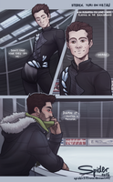 Sterek Yuri on Ice AU by spider999now