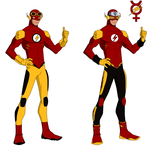Flash Titans Design by Bobkitty23
