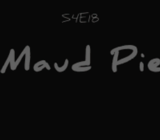 S4E18, Maud Pie -- Deleted Scene by TheeLinker