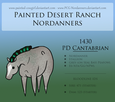 1430 PD Cantabrian ***** - Nordanner by painted-cowgirl