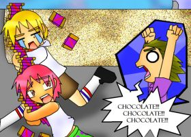 Spongebob S- Chocolate 2 by Anigirl5