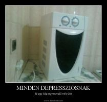 Laughing microwave by Klaudia333