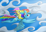 Leanring to fly by Coco-flame