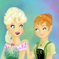 Frozen Fever by WaterbenderGirl96