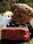 Disaster Derpy Used Big Muffin by akrex