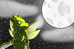 Request: Scyther-Wolf by Artistic-Winds