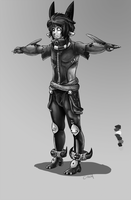 Character:: T pose by InkpotBot