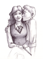 Ron Loves Hermione by EndlessDiamondSky