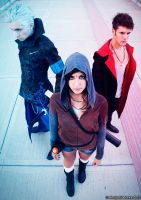 Dante, Vergil and Kat DmC 5 Cosplay by GNefilim