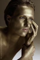 Gold and beauty: are you interested? by wildrosemodel