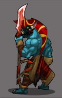 DoTA Allstars: Sacred Warrior by hangemhigh13