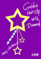 CLAC gift: Golden Hairclip with Diamond by OoshiroSaohime