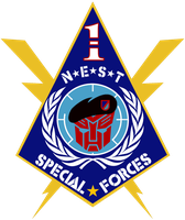 NEST 1st Special Forces Logo by viperaviator