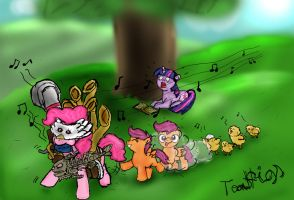 Cacophony of Equestria by TeaGigs