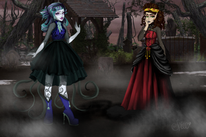 Shadows, Nightmares, Dreams and Darkness by SpicePrincess