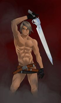 Squall Lionhart... O.o by Thyamant