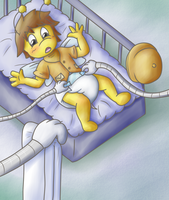 Changing Table and Dee by Hira-Dontell