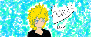 Crappy Roxas doodle is crappy by kankrivanbooty