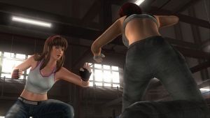 Boxing Ring: Hitomi vs Mila 8 by SwarmlordTrainee