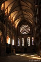 Inside Lincoln Cathedral 2 by MichaelJTopley