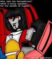 Why join the Decepticons? by Scream01