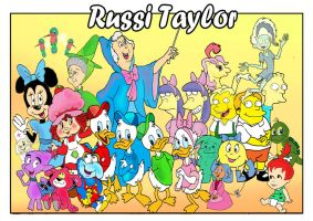 Russi Taylor by raggyrabbit94
