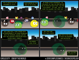 CC401 - End of the World 1 by simpleCOMICS