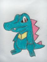 Totodile by nintendolover2010