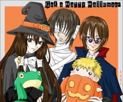 GB Halloween fanart by andys