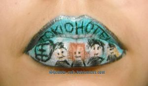 Tokio Hotel Inspired Lips by Shadow-rulz