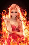 Fire Elsa by chillerofhell