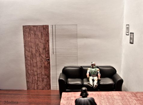 Bounty Hunter Casting Couch by RogerMedina