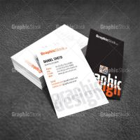 Business Card Template PSD by graphicstock