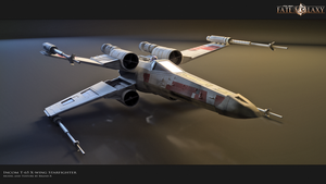 X-wing Wallpaper by Brandx0