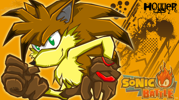 Hogger:: SONIC BATTLE by SpyxedDemon