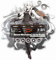 Aircraft Carrier Hime Winamp by Kaza-SOU