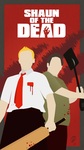 Shaun Of The Dead Poster by LewisDarlow
