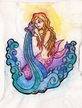Aquarius Mermaid by FaDemian