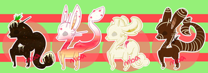 { Christmas Draw-to-Adopt Nipper Set } CLOSED by YaoiDaddy