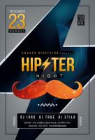 Hipster Night by iorkdesign