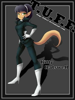 Kitty Katswell From T U F Puppy Its A Funny Show