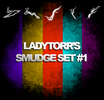 LadyTorr's Smudge Set 1 by LadyTorr