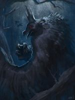 King Raven by SpideyCreed