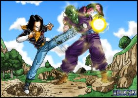 C-17 VS Piccolo by DBZwarrior