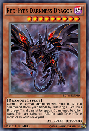 96561011 Red-Eyes Darkness Dragon by Kai1411