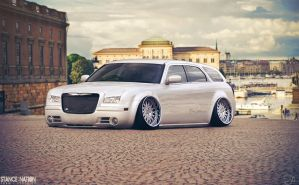 Stanced Chrysler 300C Wagon by Sk1zzo